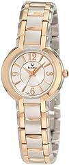 Bulova Womens 98L153 Two-Tone Stainless Steel Bracelet Watch