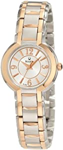 Bulova Women's 98L153 Two-Tone Stainless Steel Bracelet Watch