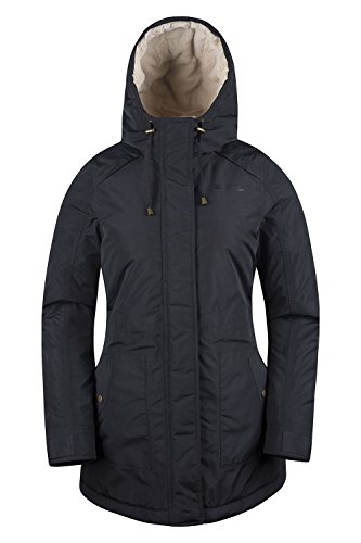 Mountain Warehouse Transatlantic Damenjacke mantel Schwarz DE 40 (EU 42) -