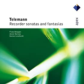 Telemann : Recorder Sonata in B flat major TWV41, B3 : I Largo
