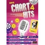 Super Chart Hits 4 mit Karaoke-CD: Die angesagtesten Songs aus den Charts - Zum Singen und Mitspielen!