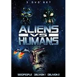 Aliens Vs Humans 3 Pack Set
