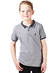Pure Cotton Birdseye Polo Shirt