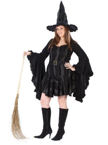Classic Witch Stitch Plus Size Witch Theatre Costumes