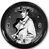 Humphrey Bogart Wall Clock Black Great Unique Gift Idea