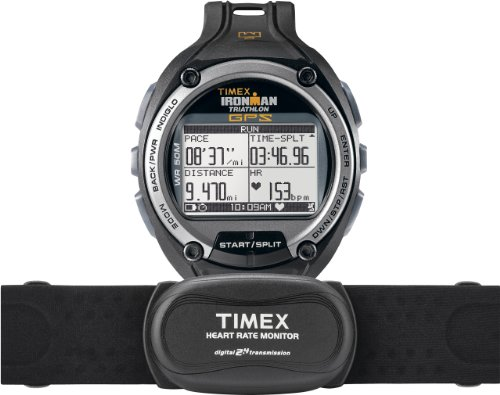 Timex Herren-Armbanduhr XL Ironman Global Trainer Digital Kautschuk T5K444