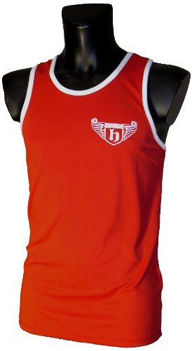 Hatton Boxing Polyester Club Vest Red Small