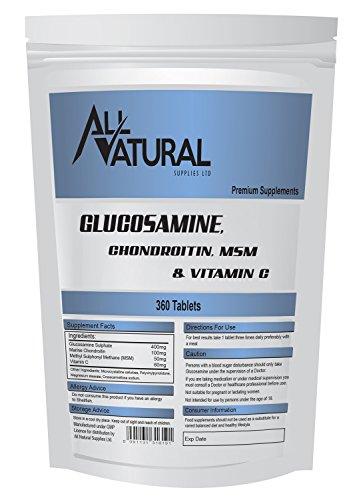 360 Glucosamin Tabletten, Komplexe Tabletten, Nachfüllpack Für Briefkasteneinwurf geeignet