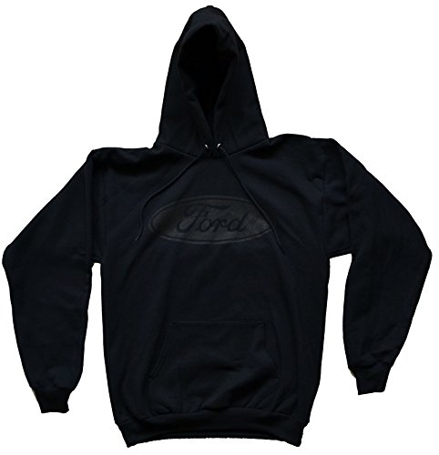 Ford Hoodie with Gray Ford Logo 100% Cotton Size Medium (Ford Hoody compare prices)