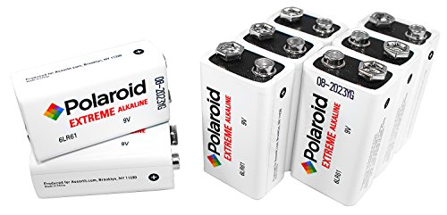 Polaroid 9 Volt Extreme Performance Alkaline Batteries (8-Pack) (Amazon Pantry Service compare prices)