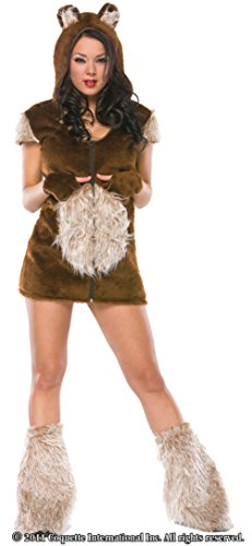 Coquette Womens Teddy Bear Girl Cuddly Animal Outfit Fancy Dress Sexy Costume