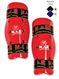 M.A.R International Ltd Dipped Foam Shin Guard Martial Arts Karate Taekwondo Boxing Kickboxing Thai Boxing Mma Muay Thai Black X-Large