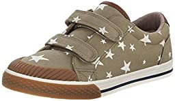 Hanna Andersson Kasper Double Adjustable Sneaker (Toddler/Little Kid/Big Kid), Alpine Green, 10 M US Toddler