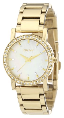 DKNY NY4792 Ladies Essentials and Glitz Gold Watch