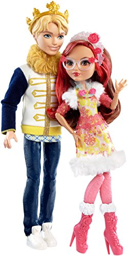 Ever After High DLB38 Daring Charming and Rosabella Beauty Dolls, Epic Winter 2-Pack JungleDealsBlog.com