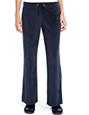 M&S Collection Cotton Rich Velour Joggers