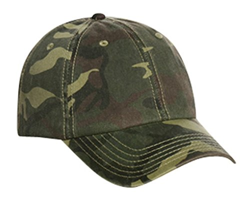 Hats & Caps Shop Camouflage Garment Washed Cn Twill Low Profile Pro Style Cap - By TheTargetBuys