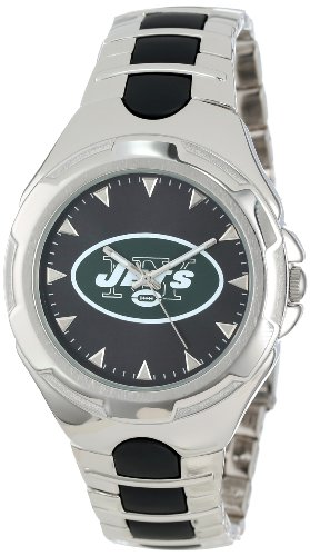 NFL Men's NFL-VIC-NYJ Victory Series New York Jets Watch at Amazon.com