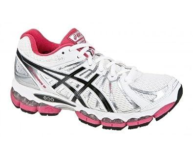 Asics Nimbus 15 Ladies pink/white (Size: 37) running shoes women