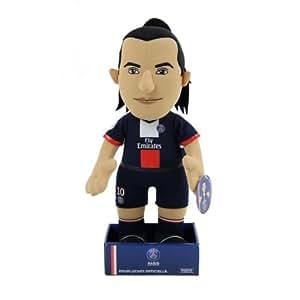 Poupluche Doudou PSG - Zlatan Ibrahimovic - Collection officielle PARIS SAINT GERMAIN - Taille 37 cm