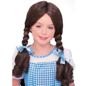 CHILD Wizard of Oz Dorothy Costume Wig