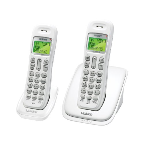 Uniden DECT 6.0 Cordless Phone System with 2 Handsets (DECT1363-2)