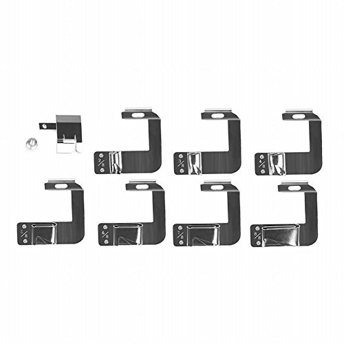 Powstro Rolled Hem Foot, 8pcs Multifunction Presser Foot Spare Parts Accessories 4/8