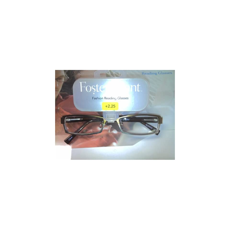 655c9cdb527 Foster Grant Shiloh Reading Glasses 2.25 Strength Copper on PopScreen