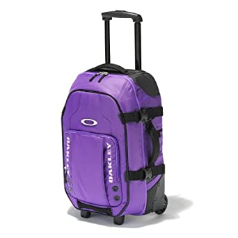 Oakley Men's Carry On Roller Bag, Cosmo Purple, One Size