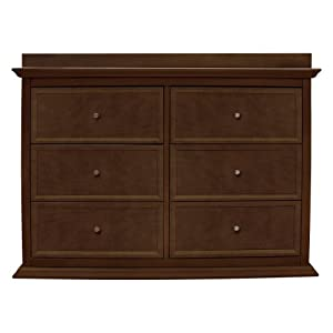 Million Dollar Baby Foothill-Louis 6-Drawer Changer Dresser with Tray from Million Dollar Baby