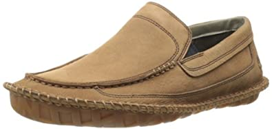 Timberland Men's Earthkeepers Lounger Slip-On,Red Brown,8 M US