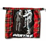 Tiger of London Tartan Bum Flap with Print. Punk