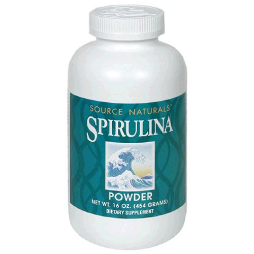 Source Naturals Spirulina Powder, 16 oz