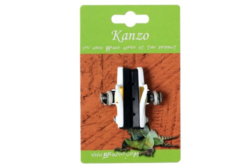 Buy Low Price Kanzo Extra Light Brake Shoes Road Bike for Alloy Rim Fit Shimano / SRAM (BKaBrShD453SW)