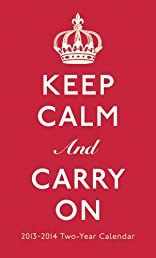 Keep Calm and Carry on 2013 Pocket Calendar