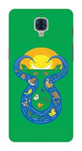 Koveru Back Cover Case for OnePlus Three - Zodiac Sign