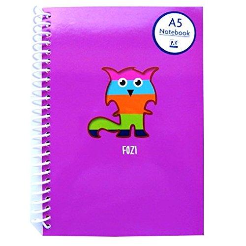 a5-rascals-kreative-notizbuch-fozi-fuchs-5-farbige-papiere-140-seiten-und-aufkleber-blatt