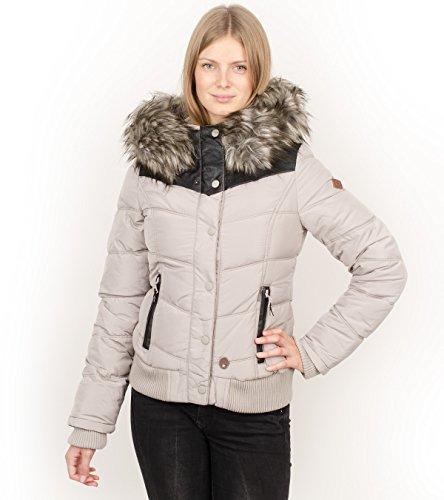Khujo Goslar giacca invernale crème, Frauen:M