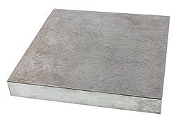 Vintaj Steel Bench Block, 4x4x.5 Inch