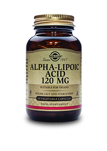 Artikelbild: Solgar, Alpha-Lipoic Acid 120 mg Vegetable Kappenules, 60