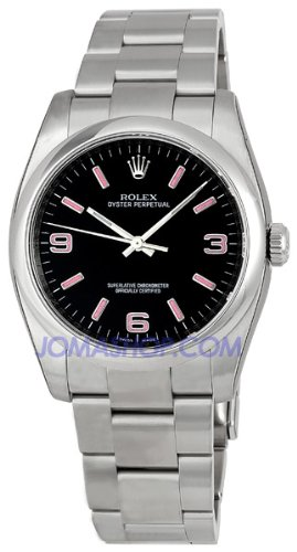 Rolex Mens Oyster Perpetual Watch with No Date 116000BKAPSO