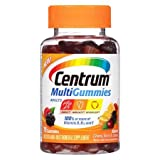 Centrum MultiGummies Multivitamin Gummies for Adults Natural Cherry, Berry & Orange - 3PC