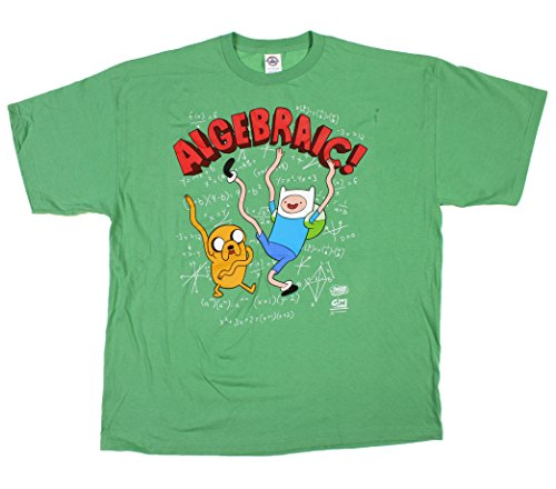 Algebraic Adventure Time T-Shirt (Adult Small)