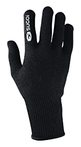 Sugoi Unisex Thermal Knit Glove (Black, Large)