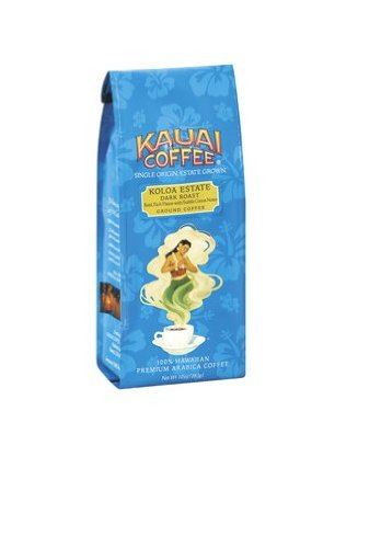 Kauai Coffee Dark Roast Whole Bean 10 oz Bag Image
