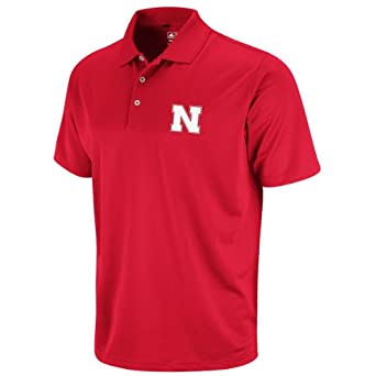 Nebraska Cornhuskers Golf Shirt by Adidas by adidas