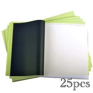 Profi Tattoo Matritzenpapier Papier Matrizenpapier Taetowierung Vorlagen 25 Blatt 4 lagig