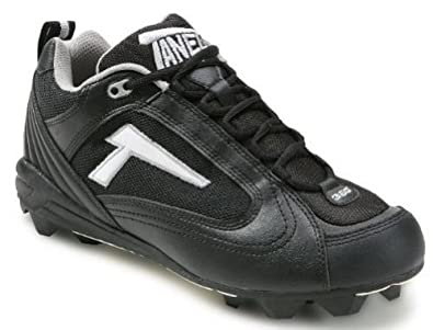 Tanel 360- RPM Lite Low Cut Molded Cleat. Black Black by Tanel 360