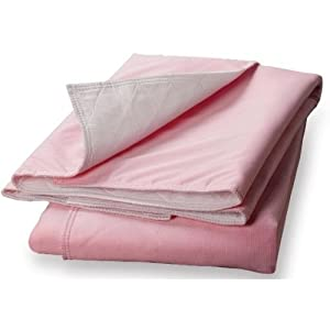 Sofnit 300 Washable Underpad, 34x36 in. White Toplayer, Moderate Absorbency, Soaker Ounce 8oz., Each,PINK