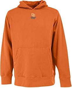 Oregon State Signature Hooded Sweatshirt (Team Color) by Antigua